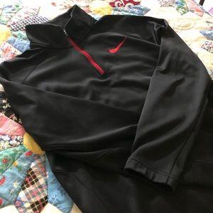 Men's Nike 1/4 Zip Sweatshirt Pullover